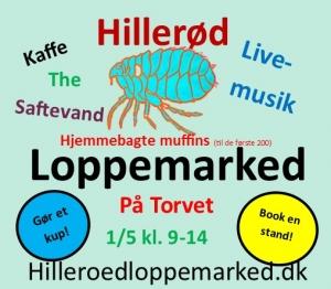 Hillerød Loppemarked Avisreklame